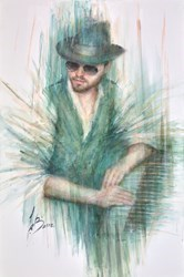 Piano Man Cover by Remi LaBarre -  sized 24x36 inches. Available from Whitewall Galleries